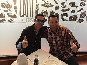 Foto Guzmán y Fabi