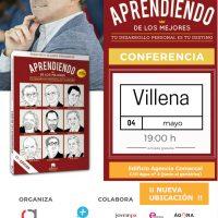 """Conferencia """"Aprendiendo de los mejores"""" con Francisco Alcaide"""