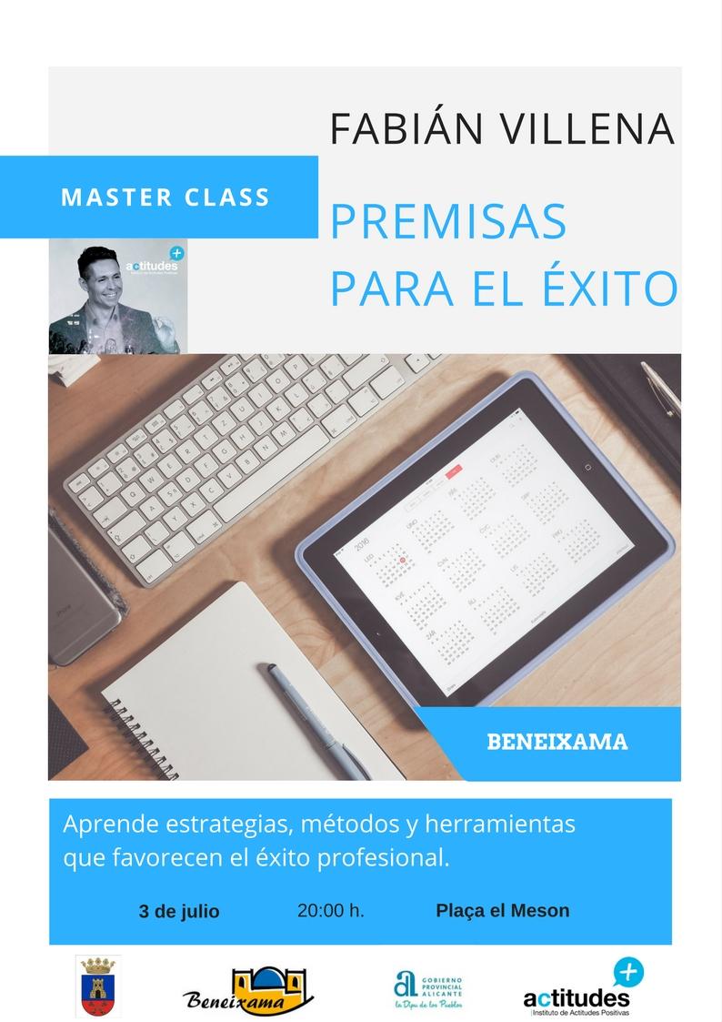 Master Class Premisas para el éxito Beneixama