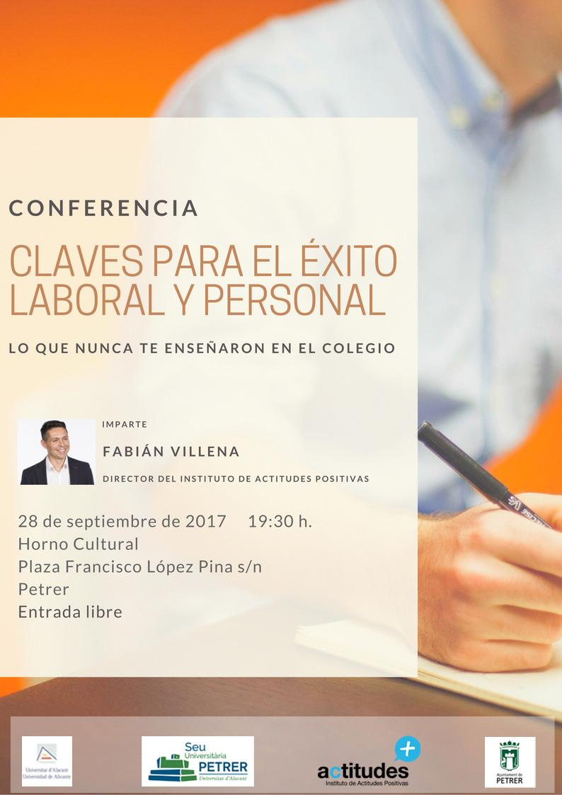 CLAVES PARA EL ÉXITO LABORAL Y PERSONAL septiembre