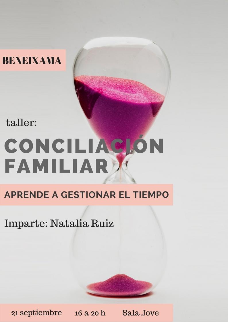 Taller Conciliación Familiar Beneixama