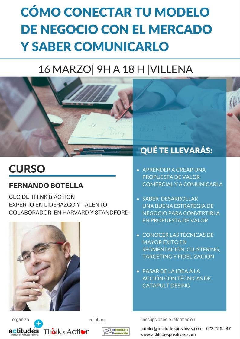 Curso Fernando Botella Propuesta de Valor 2º Edición