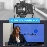 Actitudes Positivas TV- Terapia con caballos, con Marilina Hernández
