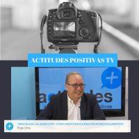 Actitudes Positivas TV – Mixólogo al rescate: Cómo reinventarse profesionalmente, con Pepe Orts